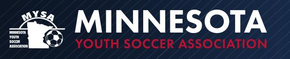Minnesota Youth Soccer Association banner